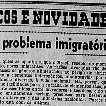Editorial do governista A Noite de 25 de maio de 1946